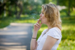Light smoking can increase health risks in women