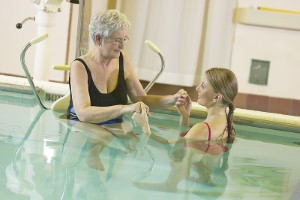 Hydrotherapy can be a useful tool for many physiotherapists - but what exactly are its benefits?