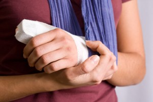 Radiographers could be facing a busy period as the cold weather sparks increased broken bone fears. Image: Thinkstock