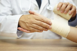 Young adults may be at a greater risk of broken bones than the elderly, according to a new report. Image: iStock/BernardSv