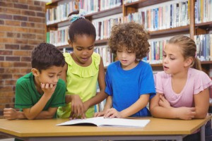 A new study has suggested that speech-language therapists can help children who are struggling to learn to read. Image Credit: Wavebreakmedia via iStock