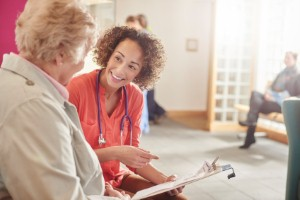 There are now more older people waiting in hospital but occupational therapists could help to reduce this number. Image Credit: sturti via iStock