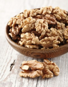 People who regularly eat walnuts may be less likely to develop colon cancer, according to a new study. Image: dionisvero via iStock