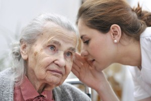 How is older peoples quality of life affected when they begin to lose their hearing? Image: AlexRaths via iStock