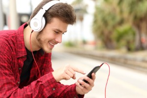 Tinnitus is becoming increasingly prevalent among teenagers, as smartphone use rises. Image Credit: AntonioGuillem via iStock