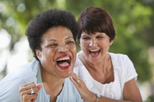 Combining exercise with laughter could help to boost the physical and mental wellbeing of occupational therapists. Image: kali9 via iStock