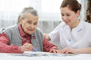 Nurses have a key role to play in providing support to dementia patients and their loved ones. Image: AlexRaths via iStock