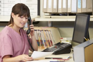 Patients do not always feel comfortable speaking to doctors receptionists, according to a new report. Image: Catherine Yeulet via iStock