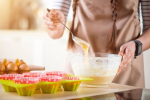 Advising mental health patients to knit or bake could provide a significant boost to their wellbeing, according to a new study. Image: Zinkevych via iStock
