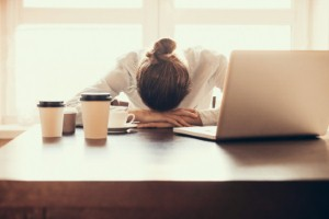 Work-related stress most common among