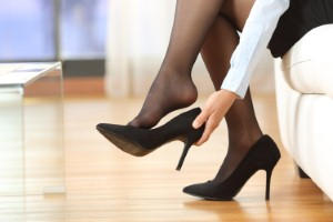 How might potential changes to workplace dress code laws in the UK affect podiatrists workloads? Image: AntonioGuillem via iStock