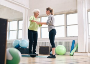 How occupational therapists could help to reduce the number of falls suffered by older people in the UK. Image: jacoblund via iStock