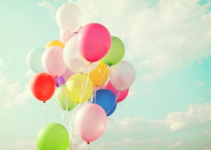 The sounds of balloons popping can be more damaging to their hearing than a gunshot heard at close range. Image: jakkapan21 via iStock