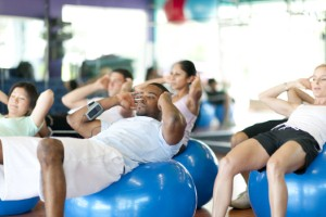 One in five people in the UK never do any exercise, consequently increasing their risk of health problems. Image: FatCamera via iStock