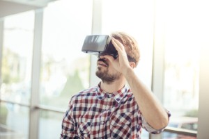 A UK student has developed a virtual reality programme designed to help people overcome speech impediment-related anxiety. Image: Popartic via iStock