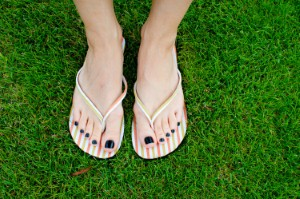 Podiatrists may see an increase in demand for their expertise over the summer months due to more people wearing unsupportive shoes. Image: mamezito via iStock
