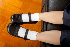 Some 29 per cent of children are regularly wearing shoes that could cause long-term damage to their feet, according to a new report. Image: arapix via iStock