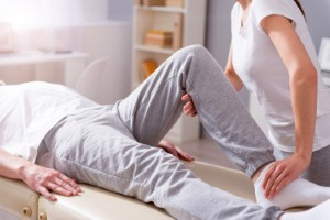 Physiotherapy involving mild electrical stimulation could provide a way of treating urinary incontinence. Image: Zinkevych via iStock