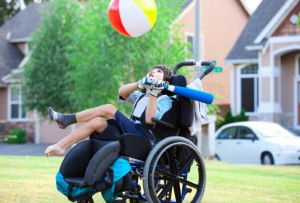 Half of disabled children dont feel confident taking part in sports at school, but occupational therapists could help to change that. Image: jarenwicklund via iStock