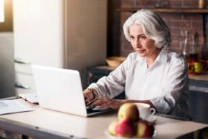 A new study has demonstrated the benefits of online speech therapy sessions for stroke patients. Image: Zinkevych via iStock
