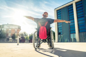Occupational therapists could help to advise local councils on how to make their open spaces more accessible for people with disabilities. Image: oneinchpunch via iStock
