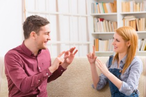Audiologists may find themselves needing to help with an increasing number of people wanting to learn British Sign Language. Image: humonia via iStock