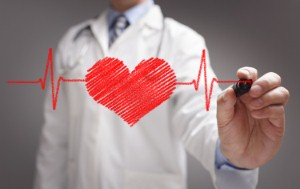Many people in the UK have a heart age that exceeds their actual age, with men particularly at risk, according to a new study. Image credit: BrianAJackson via iStock