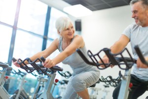 Continuing to exercise in later life can keep people feeling ten years younger in terms of their physical fitness, according to a new study. Image: PIKSEL via iStock