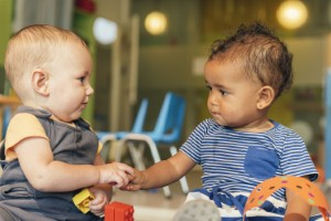 If children are not beginning to form sentences by the age of three, parents and carers should seek speech and language therapist intervention. Image: santypan via iStock