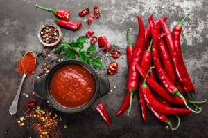 People who eat more spice instead of salt may be less likely to suffer a heart attack or stroke, according to new research. Image: YelenaYemchuk via iStock