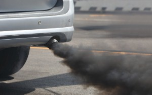 Prolonged exposure to high levels of air pollution increases a persons risk of developing brittle bones, new research suggests. Image: Toa55 via iStock
