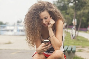 Suicides are on the rise among teenage girls, as social media addiction also increases. Image: rilueda via iStock