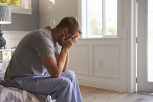 Dads who fail to seek help for their mental health could be putting their sons at risk of similar problems, new research suggests. Image: monkeybusinessimages via iStock