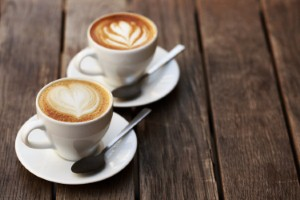 UK scientists have found that people who drink three to four cups of coffee a day may be less likely to develop heart problems. Image: efetova via iStock