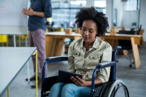 Getting an extra million disabled people into work over the next ten years will create new opportunities for occupational therapists along the way. Image: Wavebreakmedia via iStock