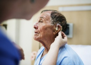 More than one-quarter of people with hearing loss could be at risk of developing dementia five to ten years after their hearing starts to decline. Image credit: Rawpixel via iStock