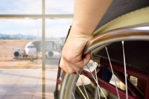 Occupational therapists could help advise on the governments plans to make air travel more accessible for wheelchair users. Manuel-F-O via iStock