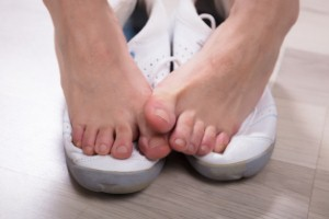 A new consumer survey has revealed that a large proportion of Britons are suffering from problems with smelly feet.