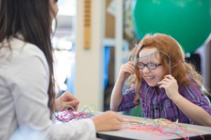 Occupational therapy has played a key role in the recovery of a young girl who suffered life-threatening head injuries three years ago.