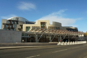 Scotlands Occupational Therapists have been blowing their trumpets in an event at the Scottish Parliament in Edinburgh.